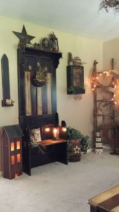 Primitive. I could see my Mom with a set up like this....                                                                                                                                                                                 More