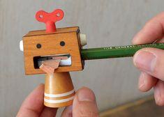 鉛筆削りロボ concombre Robot(コンコンブルロボット) - まとめのインテリア / デザイン雑貨とインテリアのまとめ。