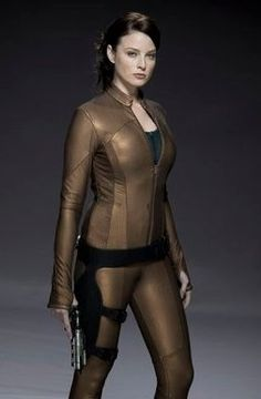Kiera Cameron played by Rachel Nichols on Continuum... See GI Joe