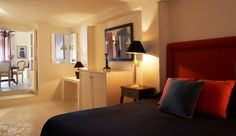 La Maltese Estate: La Malteses nine rooms have a classic French style; here is a Standard Double Room.