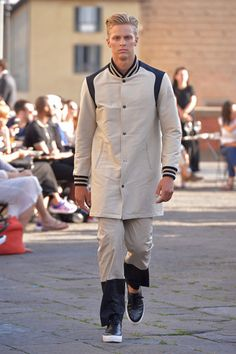 When Instagram icons Nick Wooster and Simone Marchetti strutted down the open-air runway of Ports 1961 in Florence's Piazza Ognissanti, the natural assumption that came to mind is that this might b...