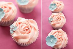 confectionary wonder. #cupcakes #roses #frosting