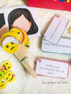 "Los peques del babi : ""La caja de las emociones"" Behavior Management, Learning Activities, Crafts For Kids, Preschool, Carrera, Teaching, Education, Ideas, Kids Psychology"