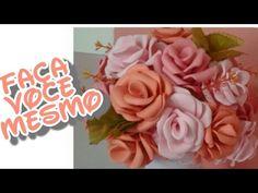 Rosas em EVA | SEM MODELADOR - YouTube