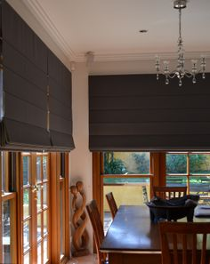 Roman Blinds are suitable for larger areas