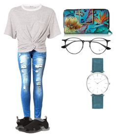 """""""Untitled #155"""" by syshrn on Polyvore featuring T By Alexander Wang, Crocs, Anuschka, Ray-Ban and Abbott Lyon"""