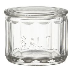 Fill this cute jar with pink sea salt for your friends who cook! Include a teensy scoop.