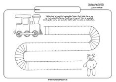 Vláčik - grafomotorika Kids And Parenting, Worksheets, Preschool, Education, Fine Motor, Activities, Ideas, 3 Year Olds, Writing