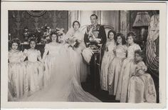 Marriage of Jaime II, second son of King Alfonso XIII of Spain and Princess Victoria Eugenie of Battenberg married en premier noces Emmanuelle de Dampierre.