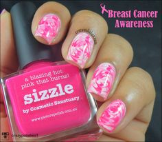 Pink Dry Marble Nail Art for Breast Cancer Awareness  by crazypolishes.com http://www.crazypolishes.com/2014/10/pink-dry-marble-nail-art-for-breast.html #breastcancerawareness #pinkfriday #pinkmani #picturepolish #watermarble #drymarble #nailart #notd #pink #picturepolishsizzle #manicure