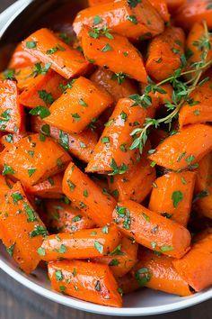 carottes rôtties au miel