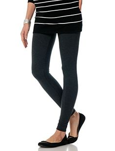 7d8385d08aff5 A Pea in the Pod Luxe Essentials Secret Fit Belly Maternity Leggings ***  Check