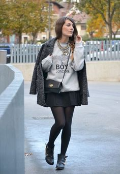 Love this look, Rock chic one