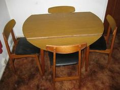 IKEA Dining Table And 4 Chairs Southville Picture 1