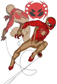 Mat Major Spiderman 2.0 Redesigns I like these color choices too and the 4 eyes