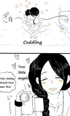 ~ Attack on Titan ~ :: Baby Eren & Levi . Part 4 . I like to think that they'd have a big brother/little brother or uncle/nephew relationship. Attack On Titan Ships, Attack On Titan Fanart, Attack On Titan Levi, Ereri, Levihan, M Anime, Anime Love, Anime Dad, Vocaloid