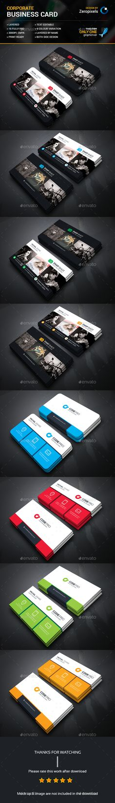 Corporate Business Card bundle — Photoshop PSD #simple #pack • Available here → https://graphicriver.net/item/corporate-business-card-bundle/16559654?ref=pxcr