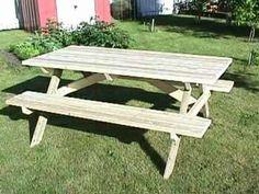 Make a Picnic Table