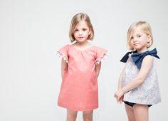 www.macali.es Girls Dresses, Flower Girl Dresses, Summer Dresses, Kids Fashion, Cold Shoulder Dress, Portrait, Wedding Dresses, Children, Monsters