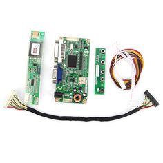 For LTN170WP-L02  VGA+DVI M.RT2261 M.RT2281 LCD/LED Controller Driver Board LVDS Monitor Reuse Laptop 1680x1050