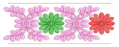 Border Embroidery Designs, Border Design, Design Reference, Machine Embroidery, Kids Rugs, Sewing, Flowers, Art, Art Background