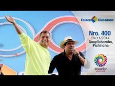 Ecuador: Enlace Ciudadano Nro. 400 desde Guayllabamba, Pichincha