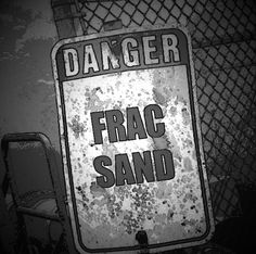 """This links to the NPR story: """"Sand From Fracking Could Pose Lung Disease Risk To Workers."""" #fracking #fracsand"""