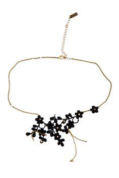 Lace Flower Necklace