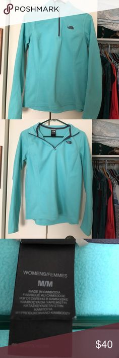 Selling this Blue north face pullover on Poshmark! My username is: emmyklee. #shopmycloset #poshmark #fashion #shopping #style #forsale #The North Face #Tops