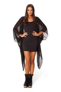 Chiffon Kimono 2.0 - LIMITED › Black Milk Clothing