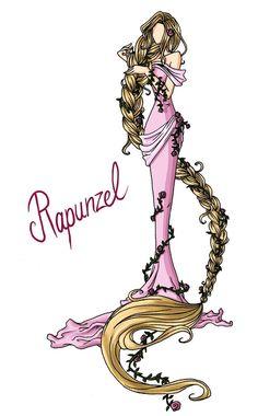 FAIRY TALE GIRLS PROJECT: Rapunzel by ~WeleScarlett on deviantART