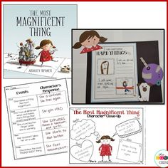 Teach Character Traits and Character's Response with The Most Magnificent Thing by Ashley Spires.