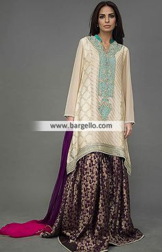 Beauteous Designer Gharara Dress for Special and Formal Events Brighten up your…