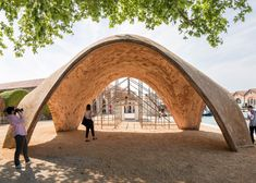 Foster + Partners has unveiled the first full-scale prototype of its Droneport concept, designed to transport medical supplies to remote regions in Africa