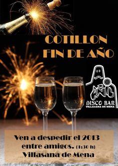 Cartel del Cotillon de Fin de Año