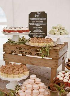 decoração mesa de doces casamento 1