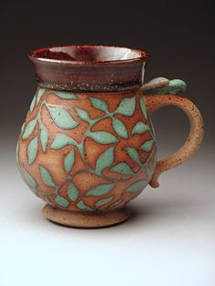 Clarice Allgood Mug at MudFire Gallery