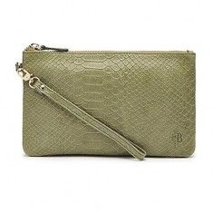 Green Reptile Leather Mighty Purse in Premium Collection. $109.99