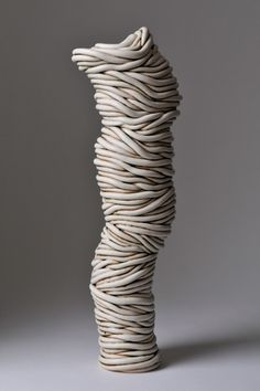 Ferri Farahmandi Ceramics - Gallery 3 Coiled sculptures #ceramics #sculpture #pottery