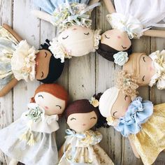 Our beautiful restock featuring the collection happens TODAY at (CST) . Felt Dolls, Doll Toys, Sewing Projects For Kids, Sewing Crafts, Cute Plush, Sewing Dolls, Doll Tutorial, Soft Sculpture, Diy Doll
