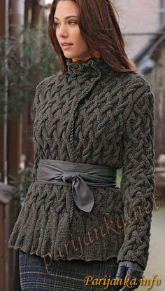 Куртка (ж) 582 Creations 12/13 Bergere de France №2960