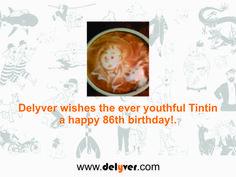 Happy birthday Tintin!