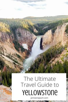 Yellowstone is the first national park I visited back when I started traveling almost 3 years ago. It was definitely love at first sight! Take a trip to the world's first national park using this guide.  READ MORE: http://jannaonajaunt.com/ultimate-tr