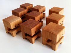 4″ Pear Wood Toys