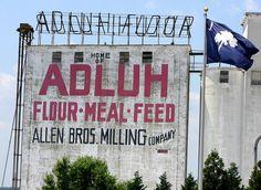 Adluh Flour ~ historic landmark in Columbia, SC