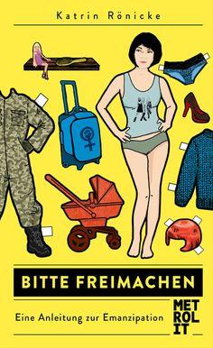 Metrolit Verlag Buchcover Katrin Rönicke Bitte freimachen