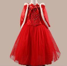 Children's Princess Performance Clothing Dress Christmas Girls Dress