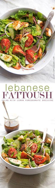 Lebanese Fattoush Sa