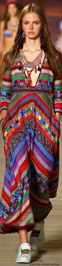 SPRING 2016 READY-TO-WEAR Tommy Hilfiger Boho Fashion