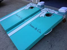 Custom Wedding Cornhole Board Sets